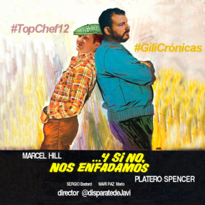 Top chef 12 Y si no, nos enfadamos - eldisparatedejavi