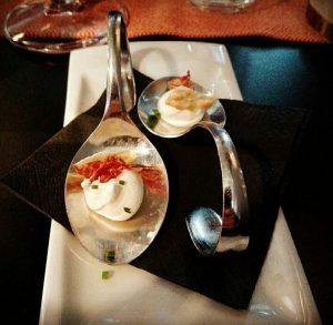 Cremoso de queso y crujiente Jamón - LaKasa - eldisparatedeJavi