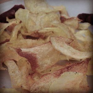 Chips caseras - eldisparatedejavi