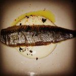 Sardina y ajo blanco Sacha - eldisparatedeJavi