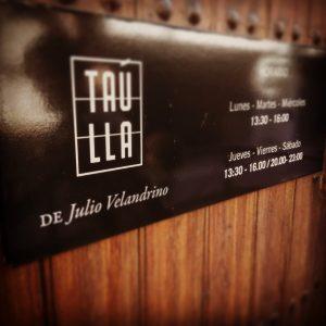La Taúlla de Julio Velandrino - eldisparatedeJavi