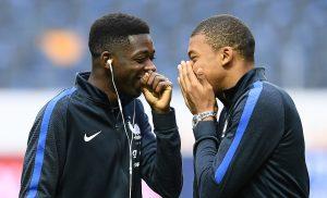 Dembélé Mbappé - eldisparatedeJavi