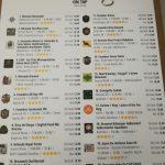 Carta cervezas El Sainete - eldisparatedeJavi