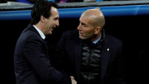 Emery y Zidane RMA PSG - eldisparatedeJavi
